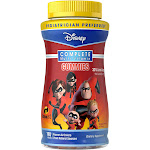 Disney The Incredibles 2 Complete Multivitamin Gummies - Grape, Orange & Cherry - 180ct, Kids Unisex