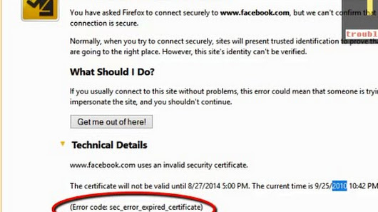 How to fix Firefox Error code: sec_error_expired_certificate ...