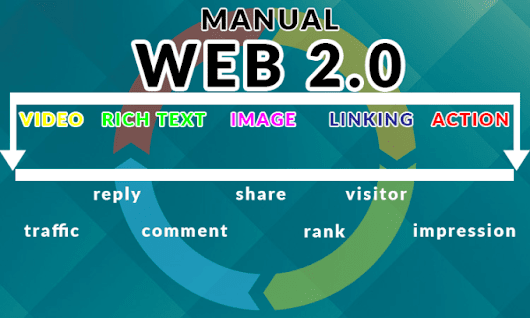 I will create Manual Web 2,0 backlink to get site SEO, Visitor for Blog, Video etc