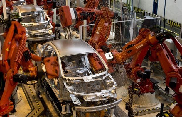 Fábrica da Fiat, em Betim, MG (Foto: Divulgação)