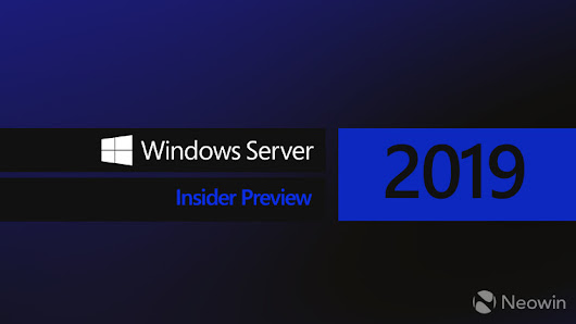 Microsoft releases Windows Server 2019 build 17713 with no new features - Neowin