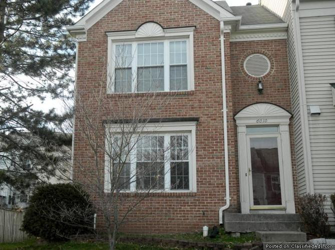 3 bedroom, 1 den townhouse in Centreville, VA for rent for ...