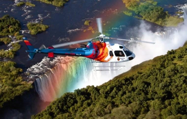 Flight of the Angels, Victoria Falls