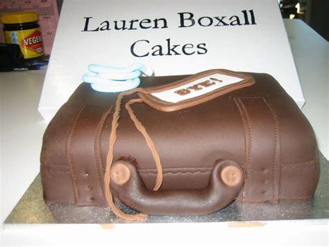 Farewell Suitcase cake   Lauren Boxall Cakes