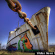 Grounded Boat Attracts World's Graffiti Artists To North Wales
