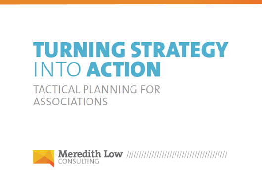 New! Association tactical planning white paper