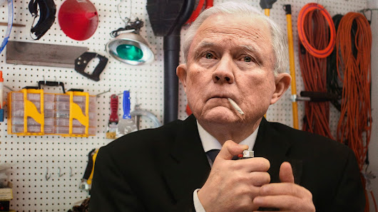 Inconsolable Jeff Sessions Tries To Commit Suicide By Smoking Joint