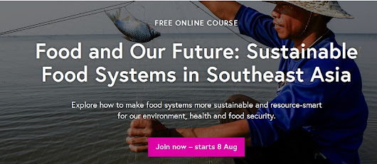 Food and our Future – starting 8th of August