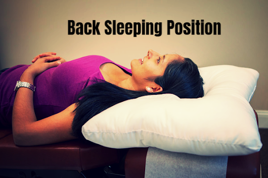The Upside and Downside of Sleeping on your Back