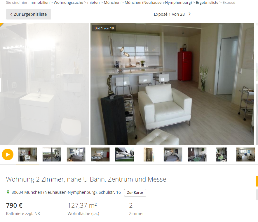 Wohnungsbetrug.blogspot.com: Wohnung-2 Zimmer, Nahe U-Bahn