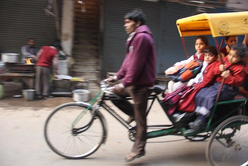 Delhi Winters And Going To School by firoze shakir photographerno1