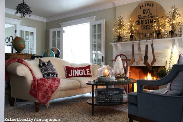 Cosy Christmas Living Room Ideas🎄🎄🎄  Musely