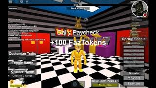 Roblox The Pizzeria Rp Remastered Glitch World Get Robux Codes - creating fan animatronics and funtime freddy in roblox the pizzeria roleplay remastered