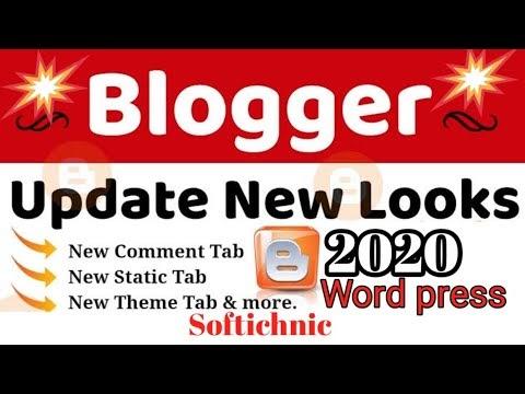 How to use blogger new update 2020 | blogger ka new update kise use karen