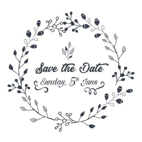 Wedding Invitation Save The Date Illustration, Wedding
