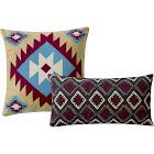 Greenland Home Fashions Throw Pillows Multi - Southwest Throw Pillow - Set of Two