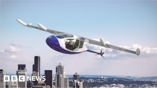 Rolls-Royce develops propulsion system for flying taxi - BBC News