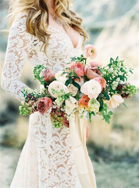 Metallic Bohemian Wedding Ideas in Coral and Copper   Hey