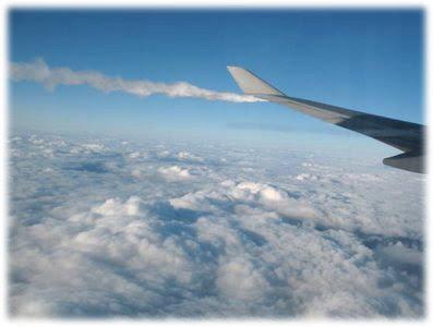 BA 287 Dumping Fuel before emergency landing
