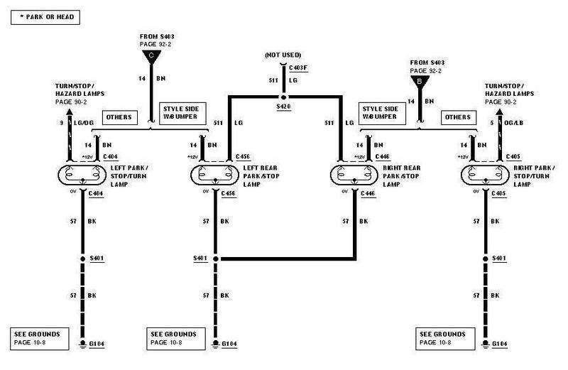Wiring Diagram PDF: 2003 Ford F 150 Trailer Wiring Diagram