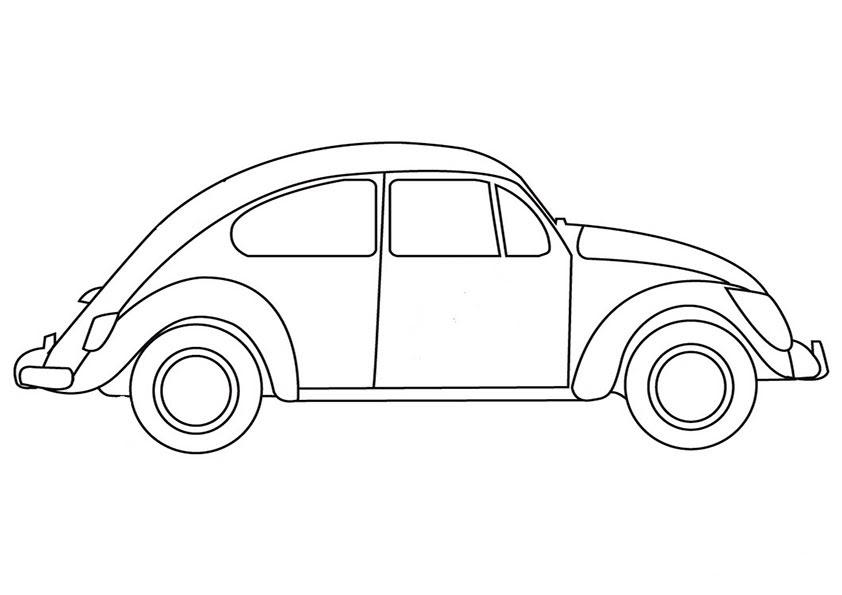 20 images ausmalbilder autos vw