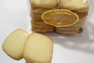 La Boulange - Orange Blossom Shortbread