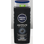 Nivea Men Active Clean Body Wash - 16.9 fl oz bottle