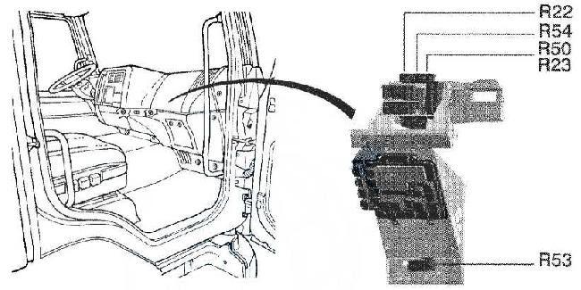 Schaltplan Renault Master 2