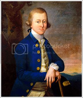 portrait of the first President of the Continental Congress