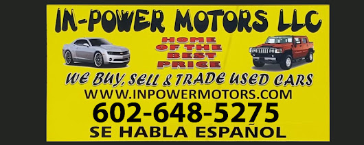 Used Car Dealers Phoenix AZ | In-Power Motors LLC