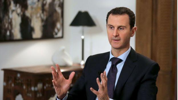 O presidente da Síria, Bashar al-Assad