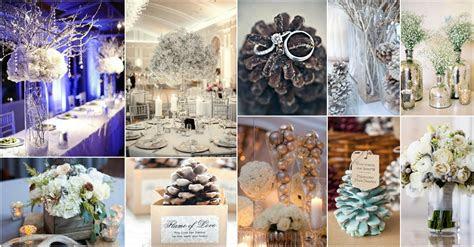 diy exclusive collection  winter wedding decor ideas