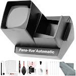 Pana-Vue 6566 Automatic Slide Viewer with Deluxe Cleaning Kit by PhotoSavings.com