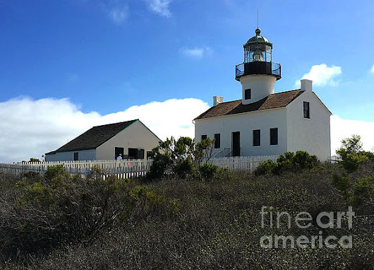 San Diego Point Loma Peninsula Lighthouse by Gregory Dyer
