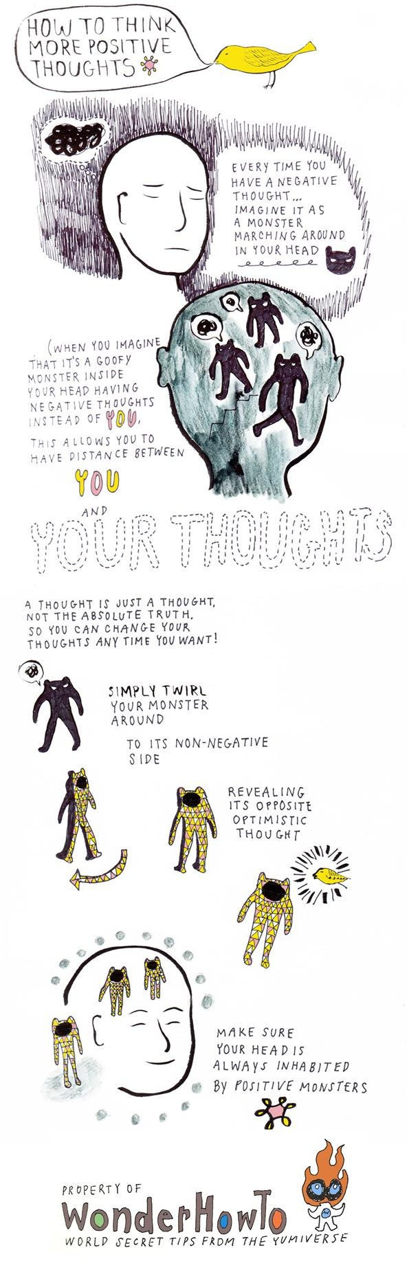 How To Change Negative Thoughts Into Positive Ones « The ...