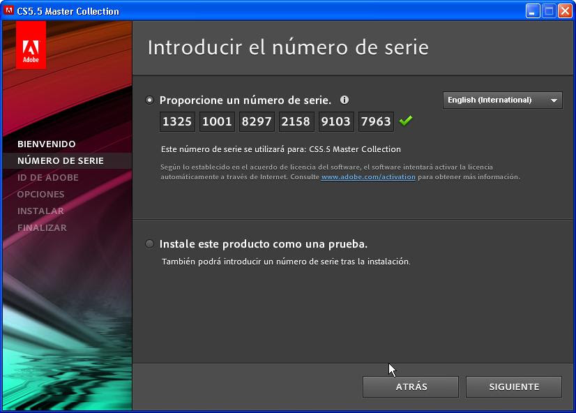 Adobe cs5 master collection serial key machinery