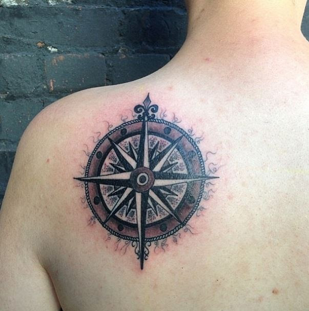 Compass Rose Tattoo Zoo