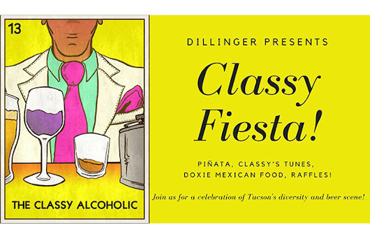 "Local blogger ""The Classy Alcoholic"" joins Dillinger Brewing for a ""Classy Fiesta"""