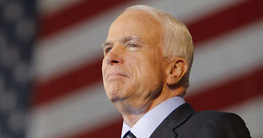 John McCain's Final Words About Donald Trump Turned Washington Upside Down