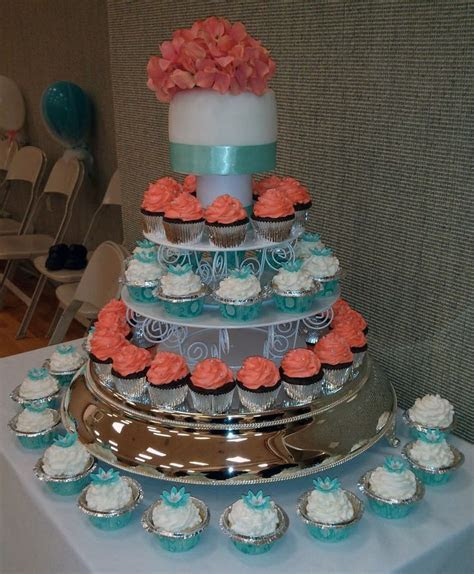 1000  ideas about Teal Wedding Cakes on Pinterest   Teal
