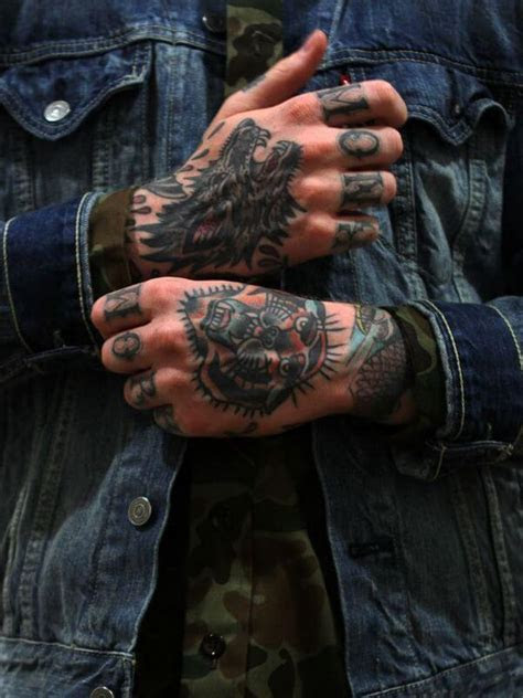 top hand tattoos men unique design ideas