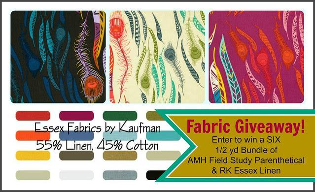 AMH Field Study & RK Essex Linen Giveaway!