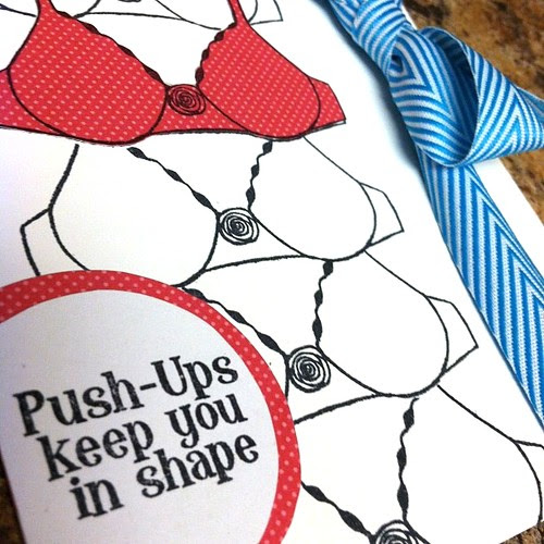 Pus-Ups Keep you in Shape (detail)
