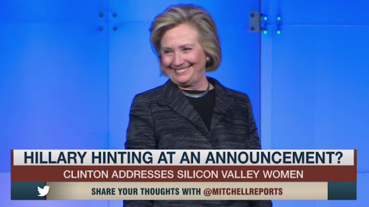 Ready for 2016? Hillary Clinton hints at run