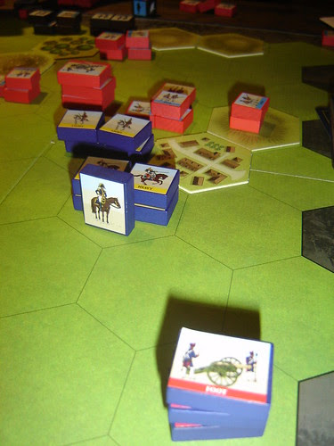 French combined arms force British out