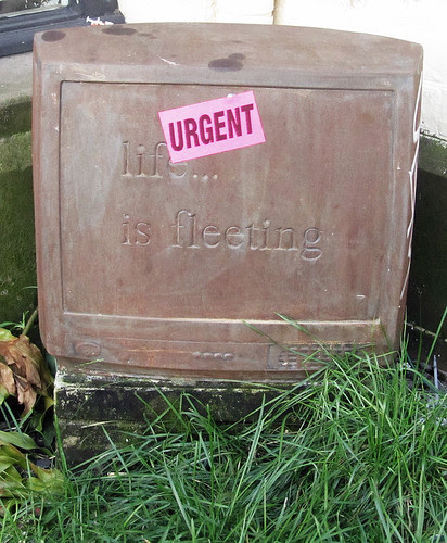 """Does """"fleeting"""" mean """"URGENT""""?"""