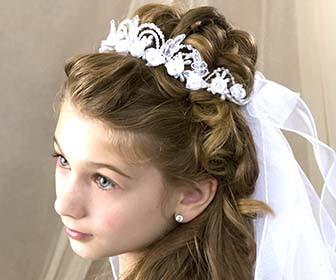 Acconciature per bambine ecco i consigli della parrucchiera YouTube - acconciature capelli per comunione bambina
