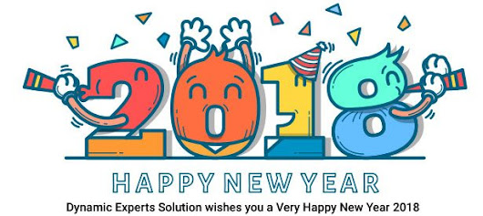 Wishes Happy New Year 2018