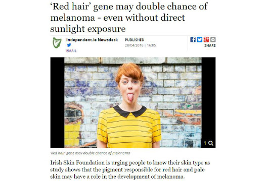 The Irish Skin Foundation comments on Dr. Okamoto's research