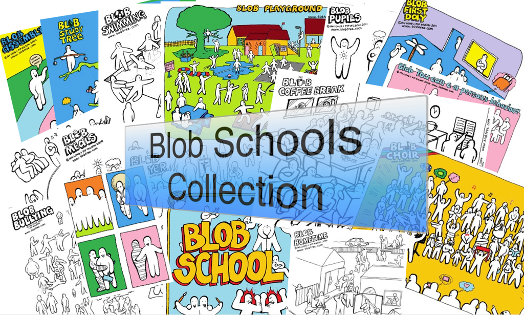 A Blob Schools Collection